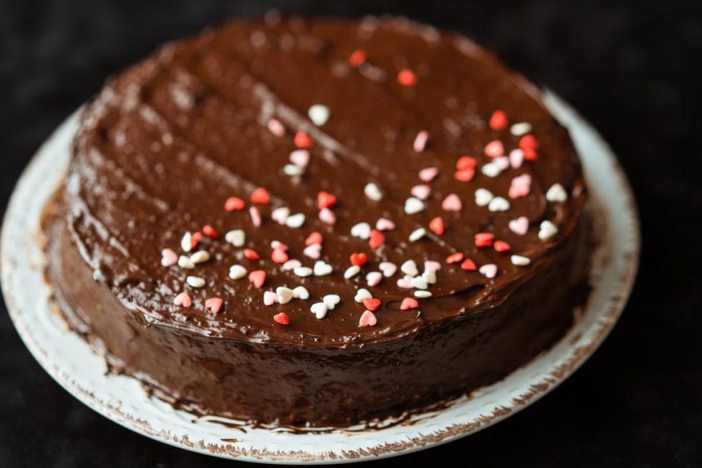 Bolo de chocolate na airfryer