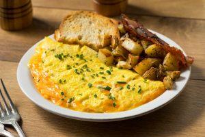 Omelete na Airfryer