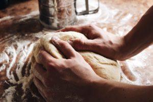 Pão na airfryer
